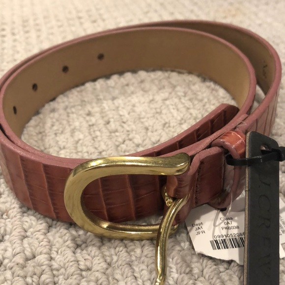 J.Crew Classic belt in Italian leather